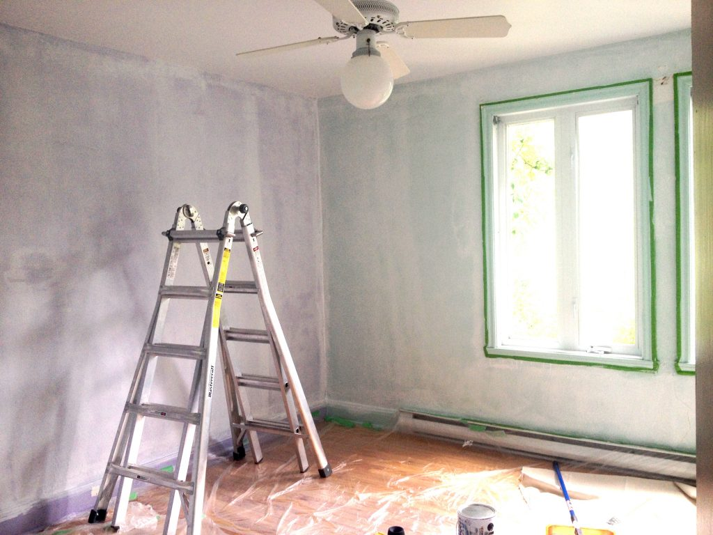 skimcoat textured walls DIY prep primer