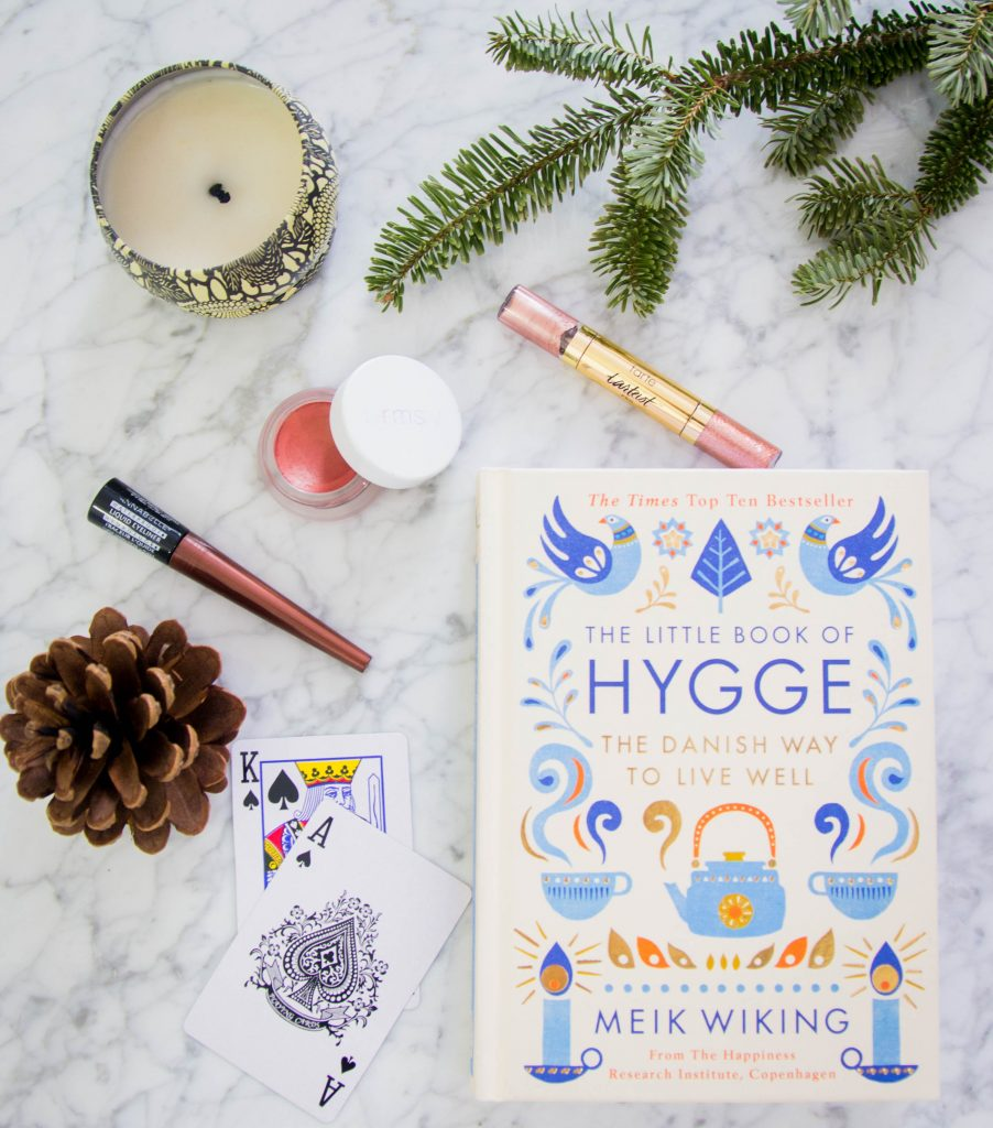 The Little Book of Hygge Tarte Tarteist Glitter Liner rose gold RMS Beauty lip2cheek promise Annabelle Waterproof Liquid Liner bronze Texas Hold'em poker favourites 2