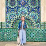 Mosque Hassan II mosaic tiles Morocco travel Montreal lifestyle fashion beauty blog 3