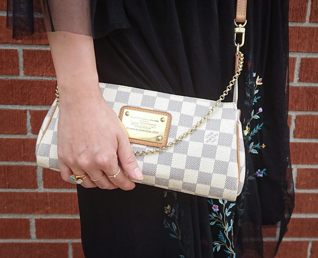 Louis Vuitton Eva clutch Montreal beauty fashion lifestyle blog