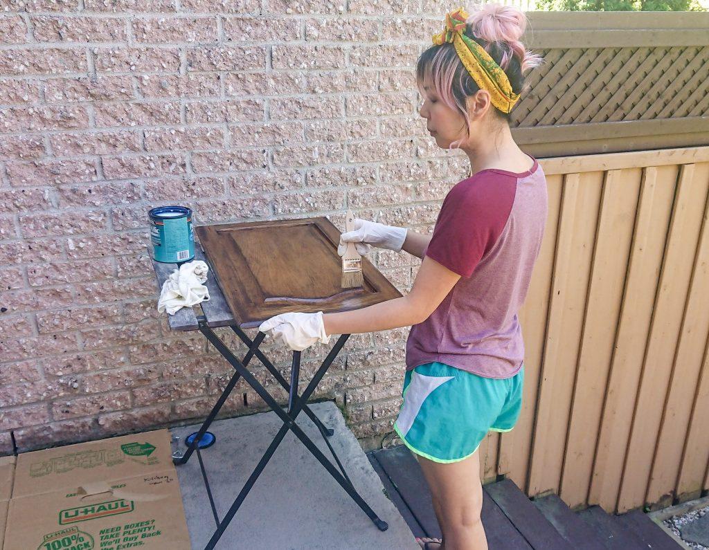 Minwax Polycrylic Protective Finish Montreal lifestyle DIY blog