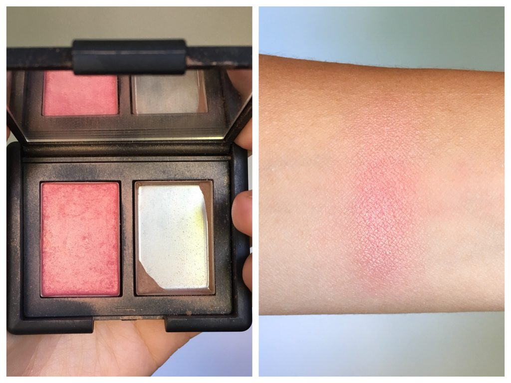 Nars Orgasm Laguna travel duo Montreal beauty lifestyle blog