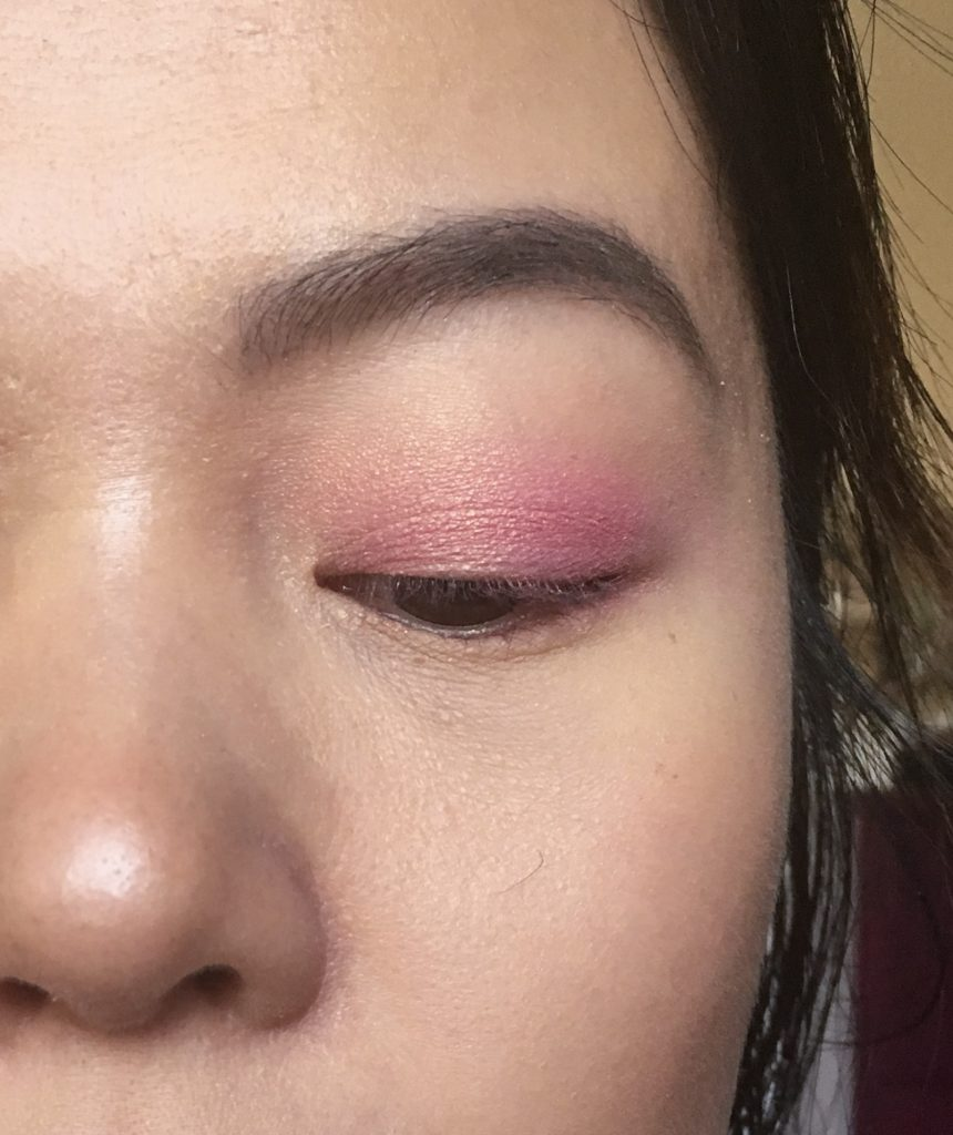 Too Faced Sweet Peach palette pink woodland fairy Halloween makeup tutorial Montreal beauty fashion lifestyle blog