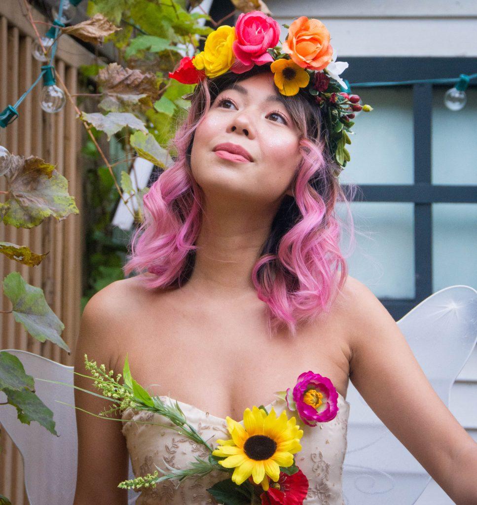 woodland fairy Halloween costume Montreal fashion beauty lifestyle blog 1