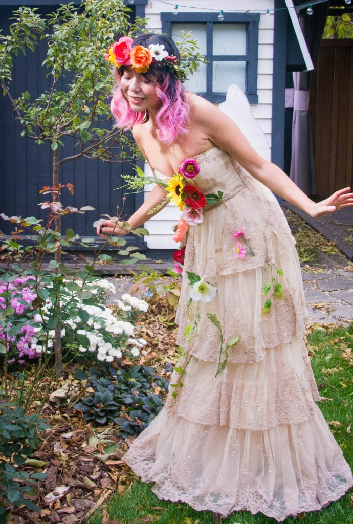 woodland fairy Halloween costume Montreal fashion beauty lifestyle blog 4