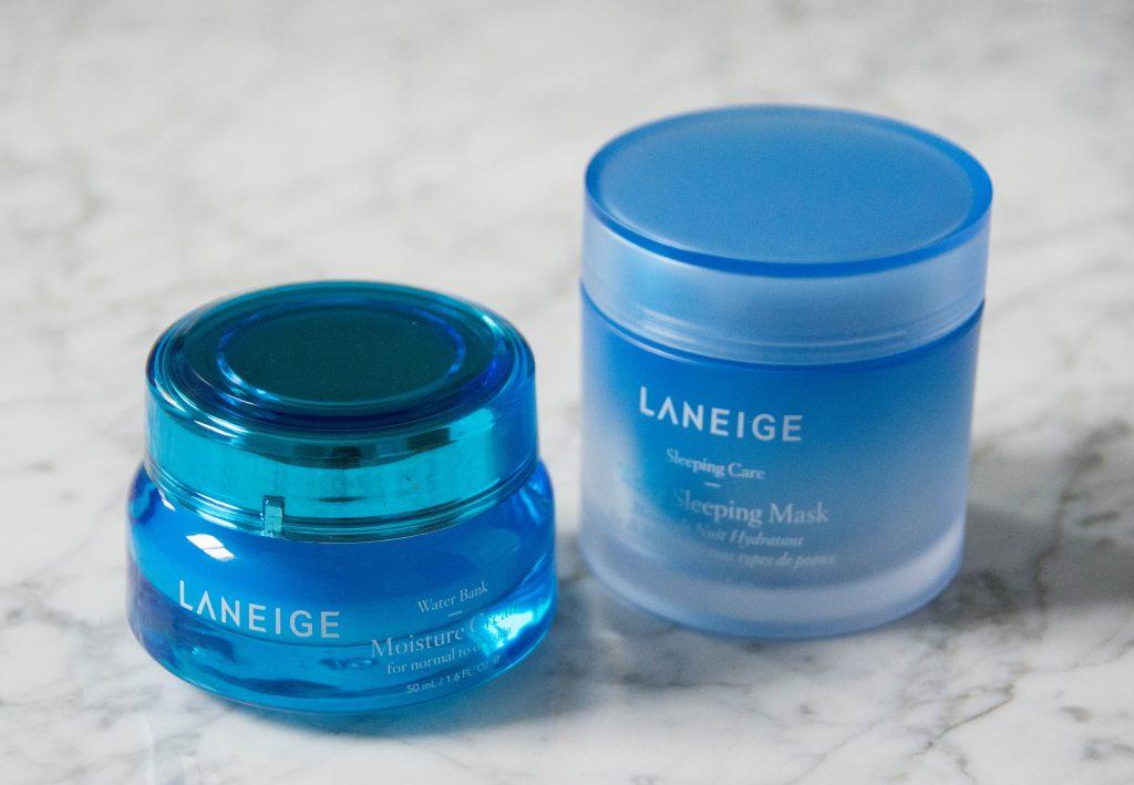 Laneiage Water Bank Moisture Cream Water Sleeping Mask Sephora VIB sale Montreal beauty fashion lifestyle blog