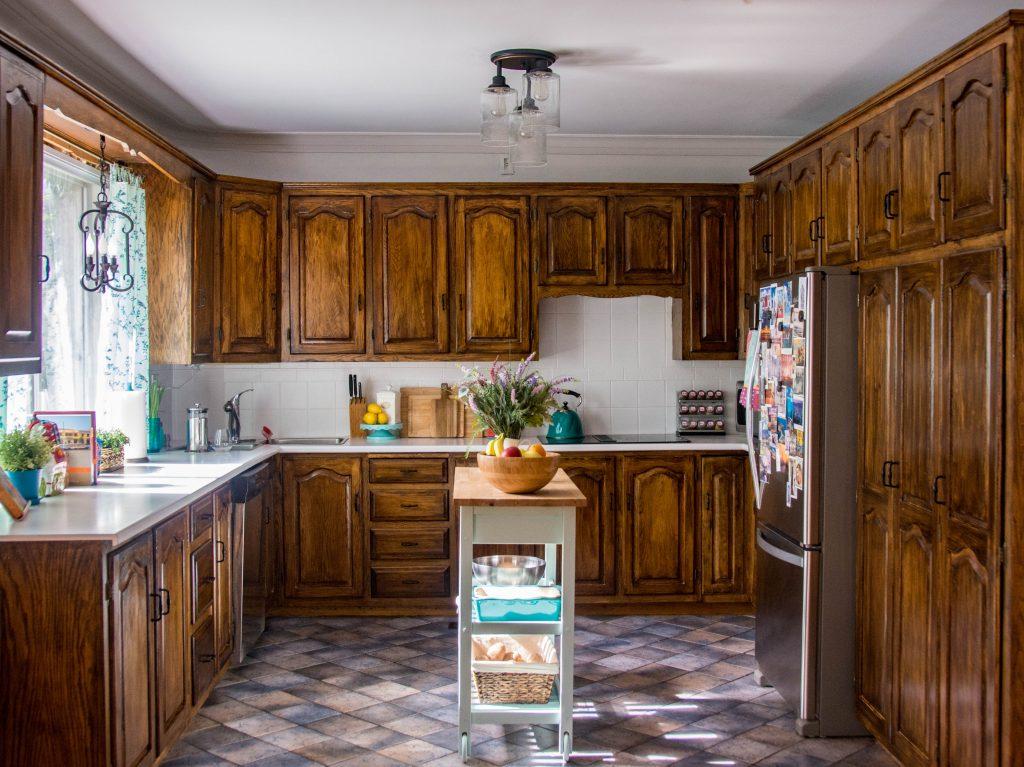 Montreal DIY lifestyle blog budget kitchen remodel after 1