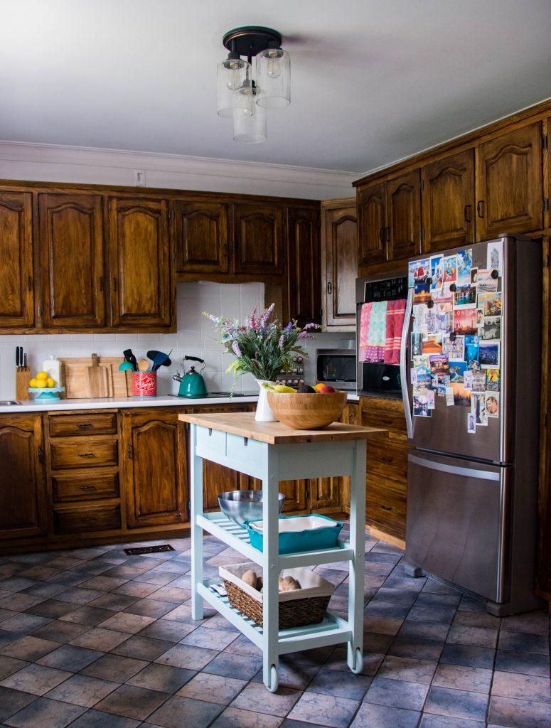 Montreal DIY lifestyle blog budget kitchen remodel after 2