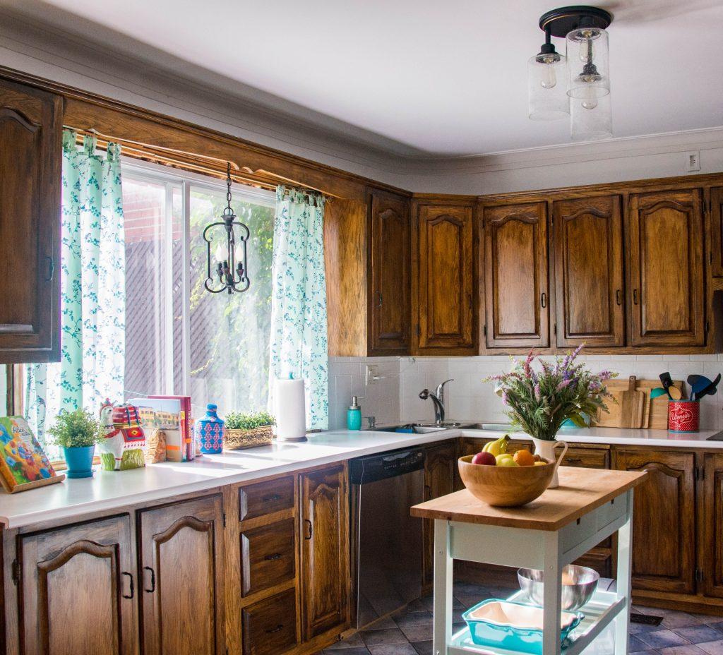Montreal DIY lifestyle blog budget kitchen remodel after 3