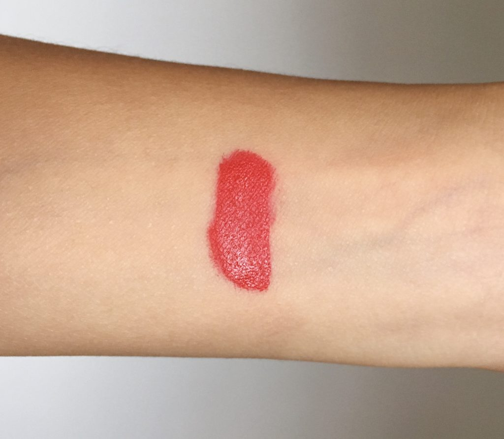 Sephora Cream Lip Stain 01 Always Red swatch Sephora VIB sale Montreal beauty fashion lifestyle blog