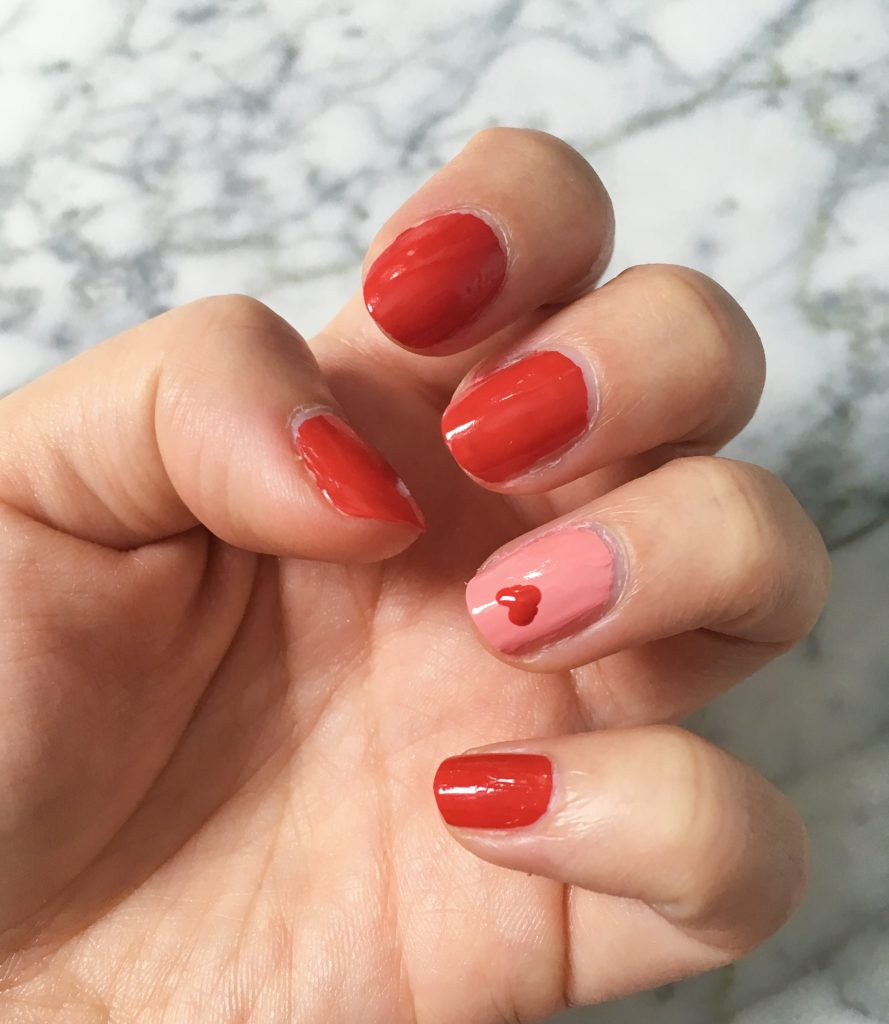 Valentine's Day nail art Montreal beauty blog 1