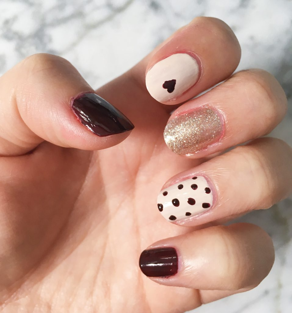 Valentine's Day nail art Montreal beauty blog 3