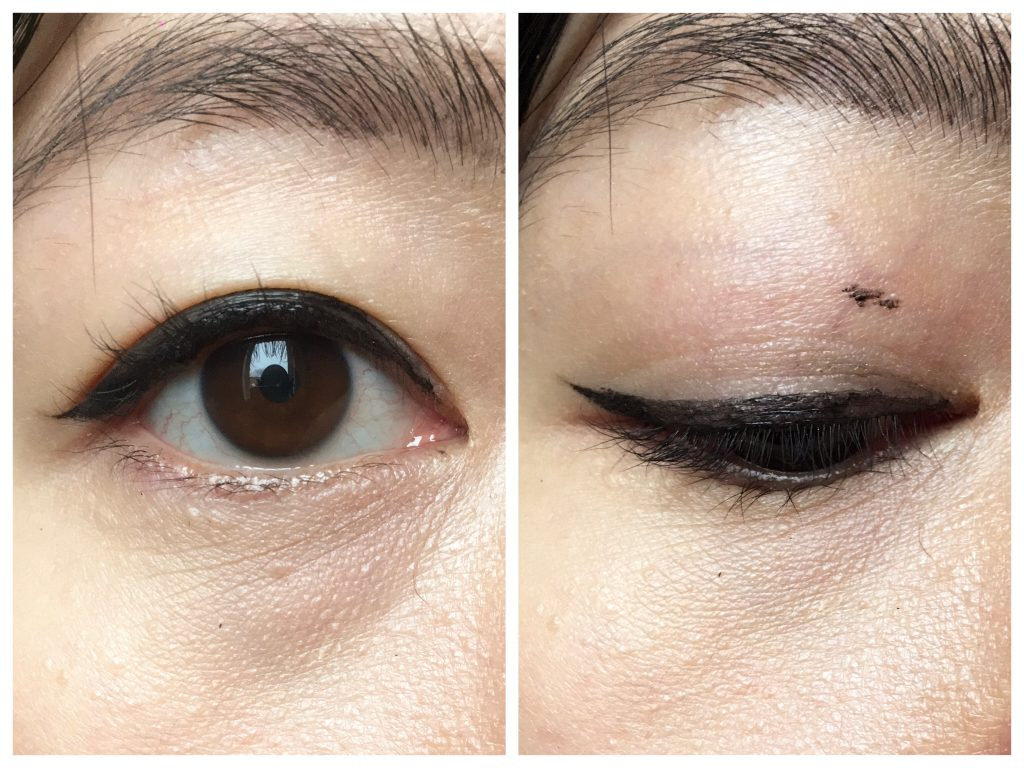 don't winged liner for hooded eyes makeup tips hacks Montreal beauty blog