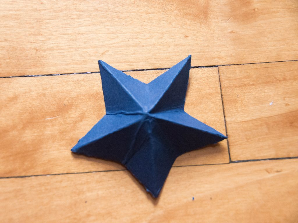 DIY 3D star mobile Montreal lifestyle blog 9