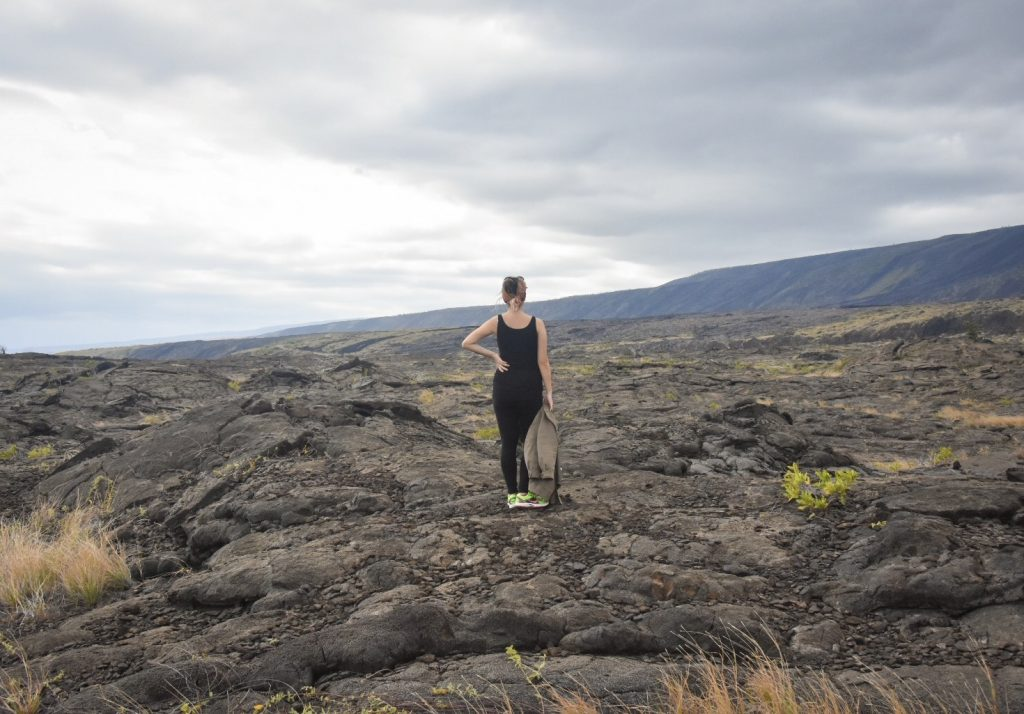 Volcano National Park The Big Island Hawaii baby bump babymoon Montreal fashion blog