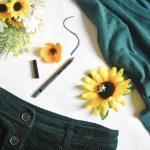 hunter green fall autumn Montreal fashion beauty lifestyle blog 2
