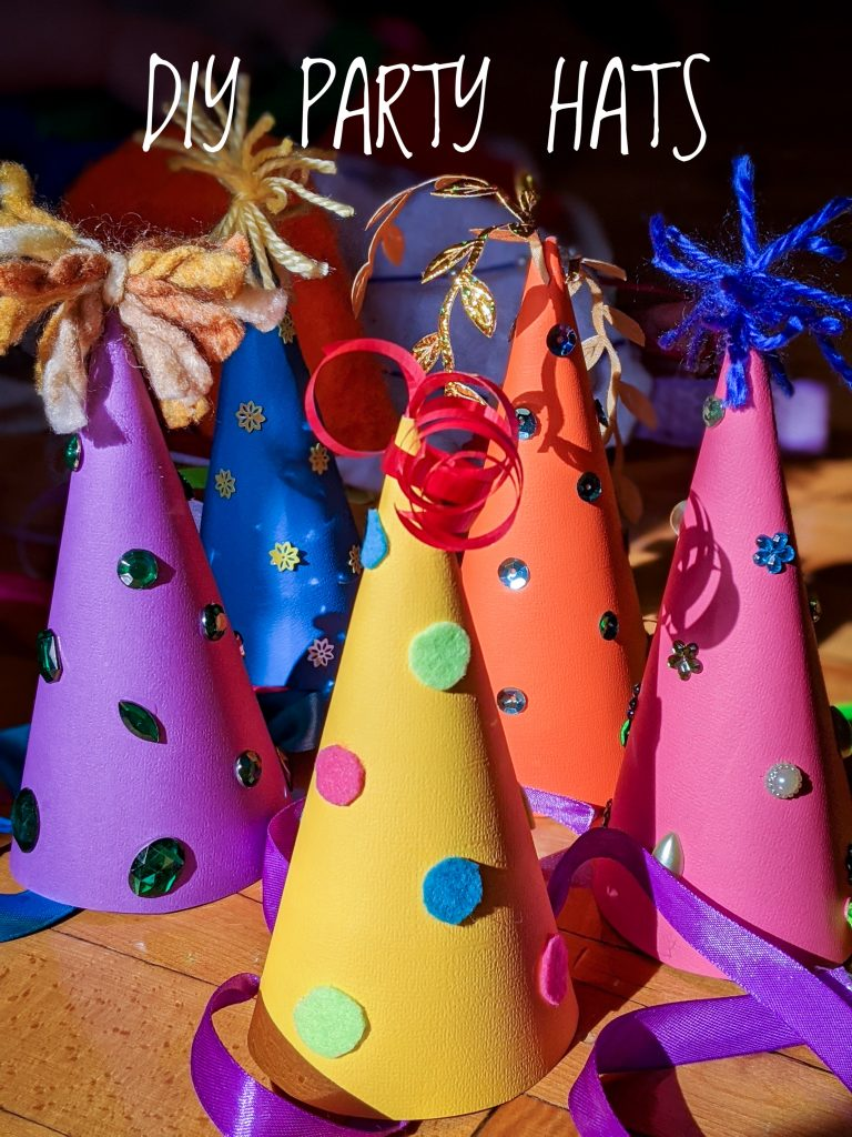 DIY birthday party hat Montreal lifestyle fashion beauty blog 3