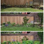 before and after border garden Montreal lifestyle fashion beauty blog
