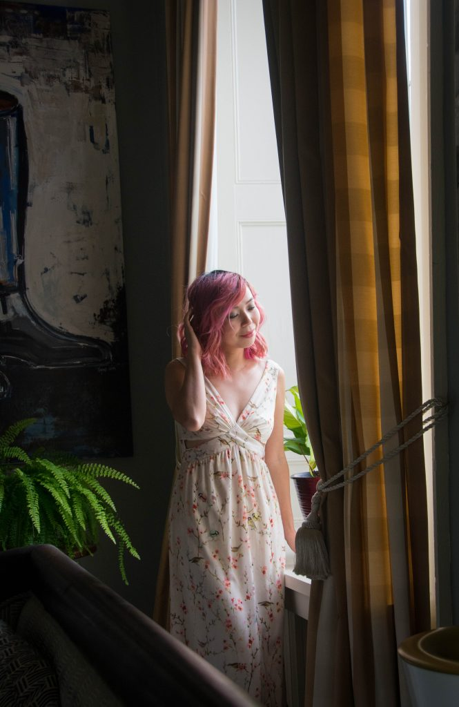 Zara floral maxi dress Montreal fashion beauty lifestyle blog 1