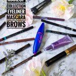 makeup collection brows eyeliner mascara