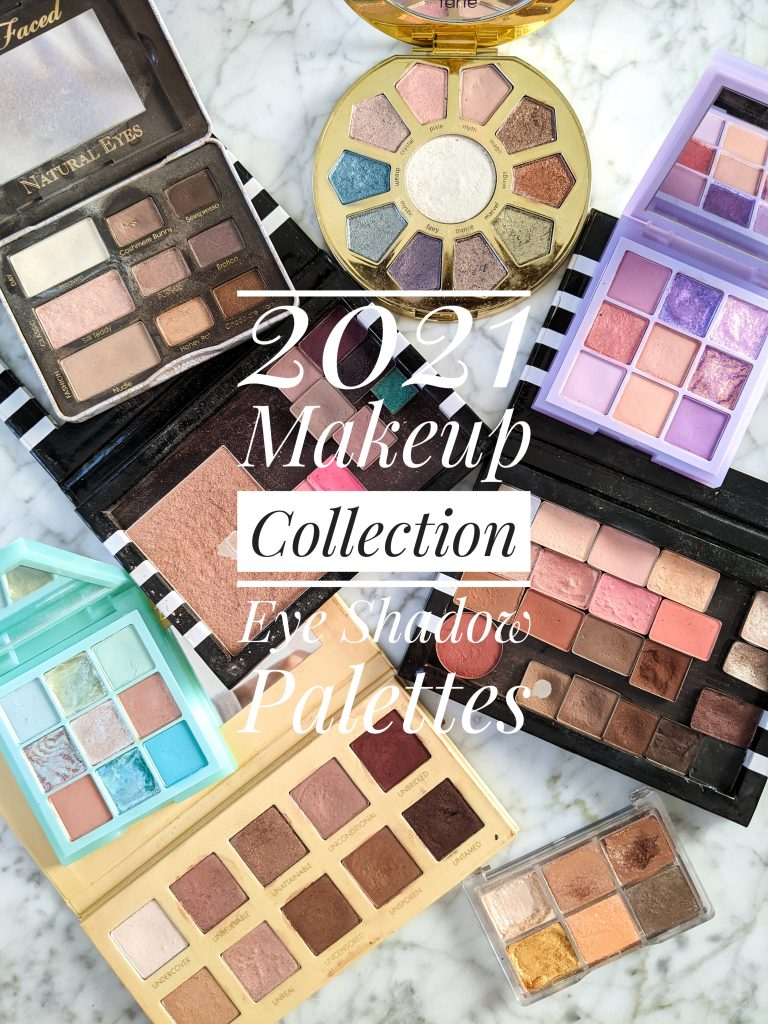 2021 makeup collection eye shadow palettes
